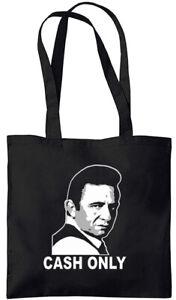 Johnny Cash - Cash Only - Tote Bag (Jarod Art Design)