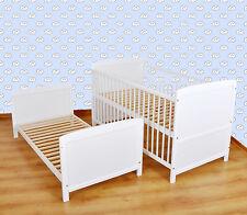 WEIß  Kinderbett  ,uniorbett 140x70