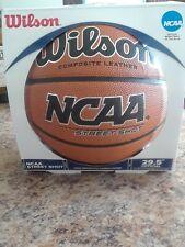 "Wilson St Shot Basketball, Official Size 29.5"" NCAA, PremiumCarcass Construction"