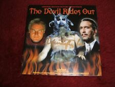THE DEVIL RIDES OUT ORIGINAL SOUNDTRACK CD SIGNED BY CHRISTOPHER LEE RARE