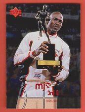 1998 Upper Deck MJx Timeline Michael Jordan Bulls #116 Foil (KCR)