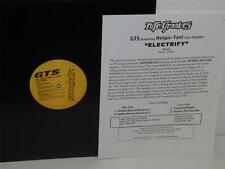 "GTS feat HEIGO-TANI (Co-Fusion) Electrify 12"" Nite Grooves AIV-120 Japan Press"
