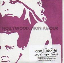 (419C) Hollywood Mon Amour, Call Me - DJ CD