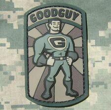 GOODGUY GOOD GUY 3D PVC RUBBER MILSPEC US ARMY MORALE ISAF USA ACU HOOK PATCH