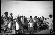 Asie Inde Portrait femmes en sari enfants - Ancien négatif photo an. 1920 - 1930