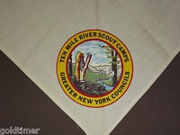 VINTAGE BSA BOY SCOUTS OF AMERICA  NECKERCHIEF TEN MILE RIVER SCOUT CAMPS NY