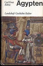 Köhne, Ägypten, Landschaft Geschichte Kultur, Kohlhammer geb. Ausg. 1966