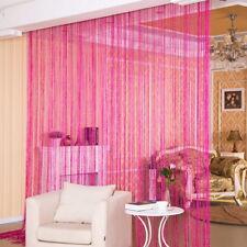 US String Door Curtain Bead Window Divider Tassel Crystal Fringe Room Panel SH