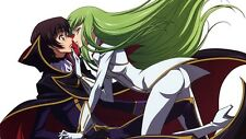 POSTER CODE GEASS LELOUCH OF REBELLION RURUSCIU NUNNALLY SUZAKU ANIME MANGA #8
