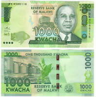 UNC MALAWI 1000 Kwacha (2016) P-67b