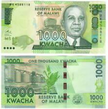 Malawi 1000 Kwacha (2016) P-67b Unc Banknote