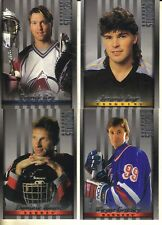 1997-98 STUDIO HOCKEY 8 X 10  SET - GRETZKY/ROY/YZERMAN/HASEK