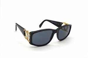 CHANEL Coco Mark CC Logo Sunglasses Eyewear Wellington Cell Frame Black 4952k