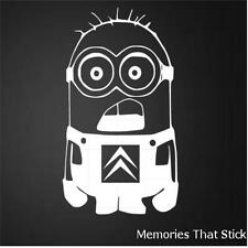 CITROEN MINION Funny Car Window Bumper JDM EURO Novelty Vinyl Decal Sticker