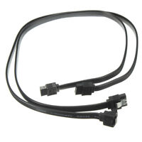 2X SATA 3.0 III SATA3 6Gb/s SSD HDD Drive Data Straight/Right Angle Cables XR