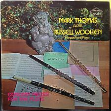 Mark Thomas & Russell Woollen - Concert Pieces For The Flute LP VG+ RE 7048