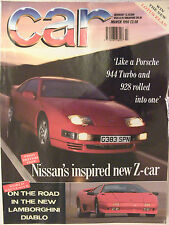 Car Magazine March 1990