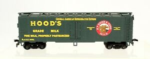 *Mantua 733-243 Heavy 41' STL Reefer Hood's Milk Box Car
