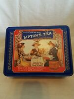 Lipton's Tea Limited Edition Nostalgic Tin Collection Tin Series 401