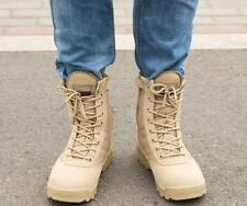 Men Women Desert Tactical Ankle Boots Hiking Military Outdoor Knight Shoes warm