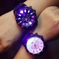 Fashion Men Women Couple Watch Luminous Large Dial Quartz Analog Wrist Watches
