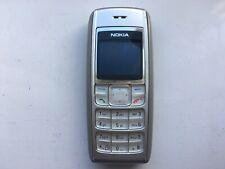 Nokia 1600 Mobile Phone (Orange) Silver