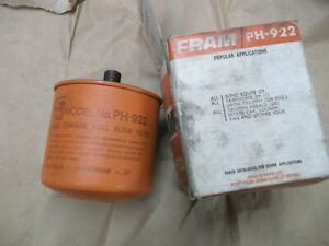 TRIUMPH HERALD & SPITFIRE NEW FRAM OIL FILTER PH922