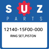 12140-15F00-000 Suzuki Ring set,piston 1214015F00000, New Genuine OEM Part