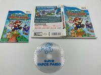 Nintendo Wii Tested Complete CIB Super Paper Mario Ships Fast