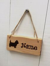 Driftwood Style Shabby Chic Custom Made Wooden Dog Kennel Garden Pet Animal Sign