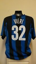 Inter Milan Home Football Shirt Jersey 2004-2005 VIERI 32 XL 45/47