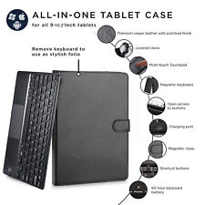 For iPad 2-3-4 / Air/ Pro Leather Stand Case Cover + Wireless Bluetooth Keyboard