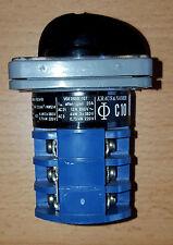 Drehschalter Kraus & Naimer  C10 A243 Blaue Serie