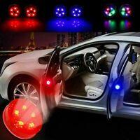2PC LED Car Door Opening Warning Light Safety Flash Signal Lamp Anti-collision