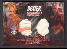 DEXTER SEASON 3 (Breygent) COSTUME CARD #D3 - C8 RITA BENNETT