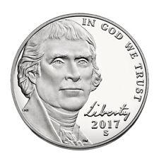 2017-S Jefferson Nickel-Deep Cameo Proof
