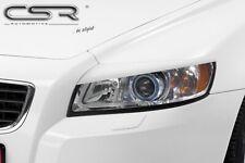 CSR Scheinwerferblenden für Volvo S40 V50 ab 2004- Böser Blick Blenden Set ABS