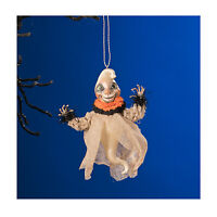 "Bethany Lowe 4"" Dexter The Hexter Ghost Spirit Halloween Decor Tree Ornament"