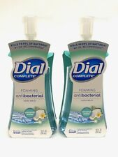 2 Dial Complete Foaming Hand Wash Coconut Water Scent 7.5 OZ Each