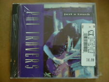 Just a Touch by Pat Travers (CD, Oct-1993, Shrapnel) NEW