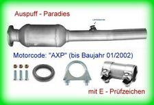 Abgasanlage /& Katalysator Skoda Octavia 1.6 1U2 /& 1U5 AVU /& BFQ 75KW mit OBD+Kit