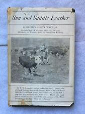 New listing Sun And Saddle Leather by Charles Badger Clark Jr. Cowboy Poems