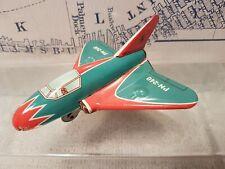 Rare Niedermeier PN-240 Tin Toy Friction AirPlane