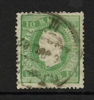 Portugal SC# 36, Used, perf 13.5, toned, small bottom tear - S9827