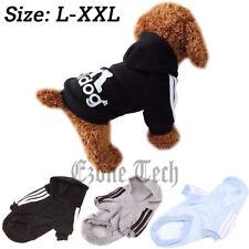 2 Leg Pet Dog Clothes Cat Puppy Coat Hoodies Warm Sweatshirt Jacket Clothing
