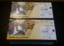HP 12A COMPATIABLE PRINT CARTRIDGE NEW 2 PCS