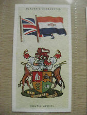 PLAYERS CIGARETTE CARD NATIONAL FLAGS & ARMS # 39 SOUTH AFRICA