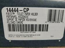 KOHLER Purist Wall-Mount Single Post Toilet Paper Holder Polished Chrome 14444cp