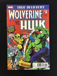Hulk Vs Wolverine 1 TB Marvel Comics Incredible HULK 181 Unread High Grade NM