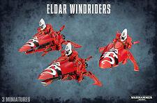Eldar Windriders Craftworlds Warhammer 40K Jetbikes NEW